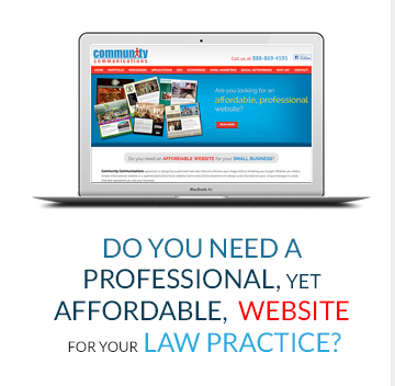 Do You Need A Professional, Yet Affordable, Website For Your Law Practice?